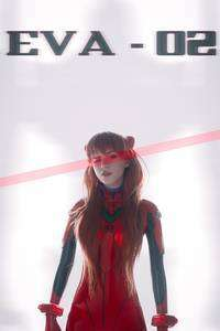 720x1280 Evangelion Anime Girl Cosplay 4k