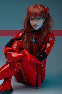 720x1280 Evangelion Asuka Anime Girl Cosplay