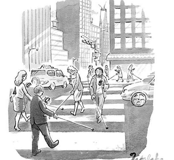 карикатура про смартфон
