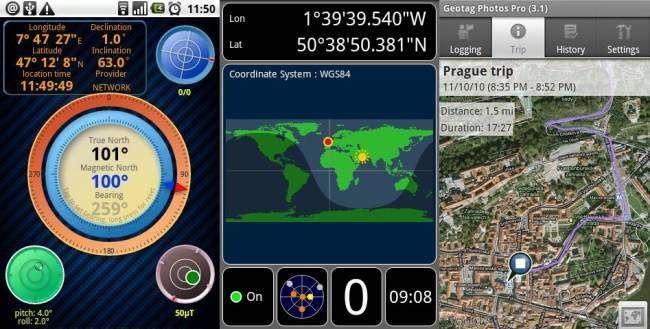 Ulysse Gizmos, GPS Test, Geotag Photos Lite