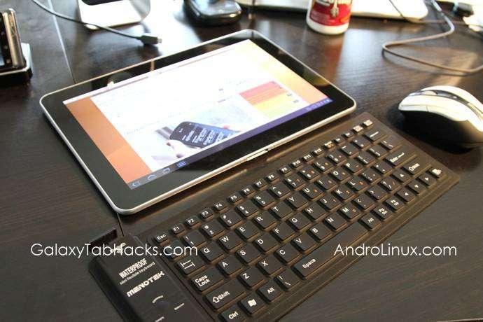 Ubuntu на Galaxy Tab 10.1