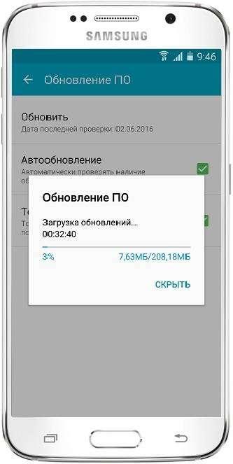 Как обновить прошивку Samsung Galaxy
