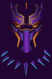 1080x1920 4kblack Panther Art