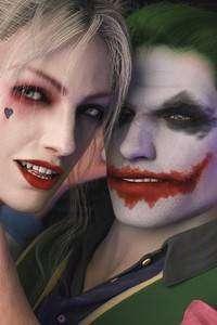 1080x1920 Joker Harley 4k